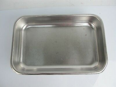 Crusader Stainless L&G MFG Stainless Steel Instrument Tray 14x9x2.5 Inches