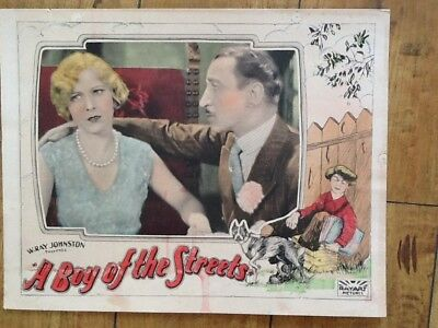 """Betty Francisco & Johnnie Walker in """"A Boy of the Streets""""  1927   Colorful"""