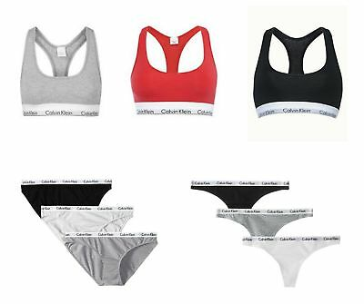 New !!! Calvin Klein Women's CK Sports Bras , Thongs , Briefs With Tags