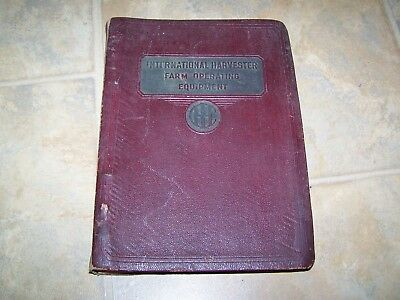 International Harvester Farm Operating Equipment No.35 Dated 1938 512 Pages