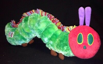 "The World Of Eric Carle The Very Hungry Caterpillar Plush 17""  2007"