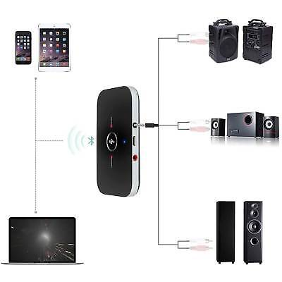 2 in 1 Bluetooth V4 Transmitter & Receiver Wireless A2DP Audio Stereo TV Adapter