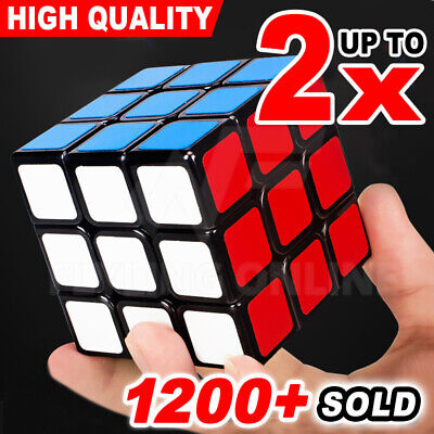 Magic Cube 3x3x3 Super Smooth Fast Speed Rubix Rubik Puzzle