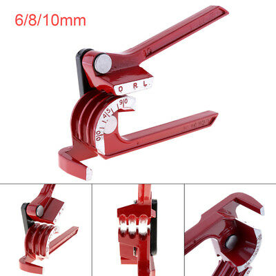 3 in 1 Pipe Bender Copper Tube/Manual Air Conditioning Pipe Elbow Hand Tools Red