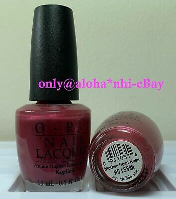 OPI Nail Polish * MOTHER ROAD ROSE * NL S65 * New Lacquer * Full Size 0.5oz