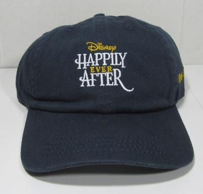 Disney Parks Magic Kingdom  HAPPILY EVER AFTER Hat Ball Cap  NWT  Free Shipping