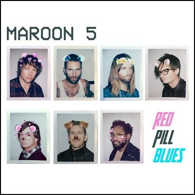 MAROON 5 - RED PILL BLUES CD w/EXTRA Tracks ~ ADAM LEVINE *NEW*