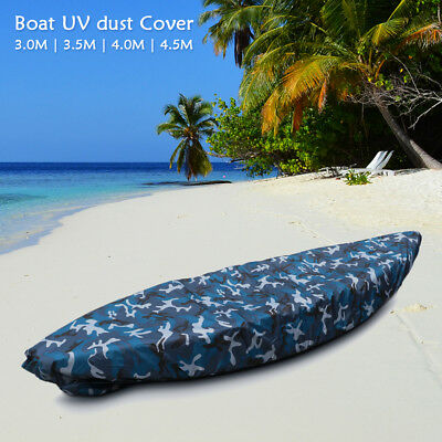 Camouflage Kayak Boat Waterproof UV Resistant Dust Storage Cover Camo Shield