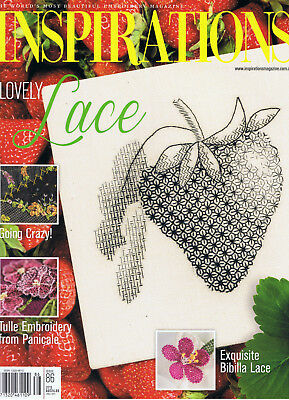 INSPIRATIONS MAGAZINE issue 86 pattern sheets attached