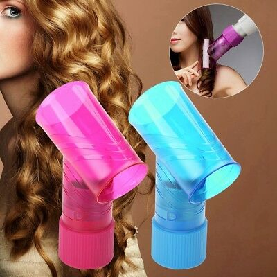 Hair Dryer Diffuser Magic Wind Spin Detachable Curl Hair Roller Curler Tools