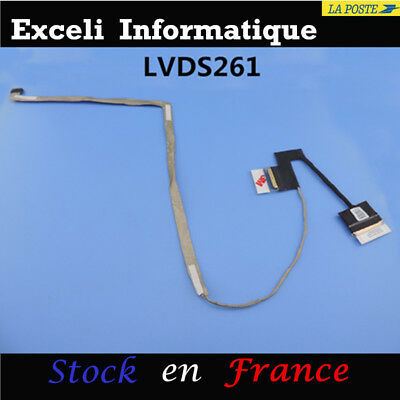 Original LCD LED DISPLAY SCREEN FLEX EDP CABLE DC02C00DC00 0NCY3G Nontouch FHD