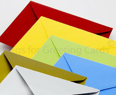 Quality Envelopes for Greeting Cards - Metallics