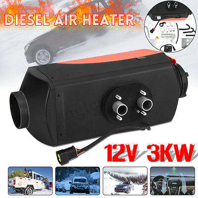 3000W 12V Air Fuel Diesel Parking Heater Set 3 KW For Car Truck RV Trailer Boat