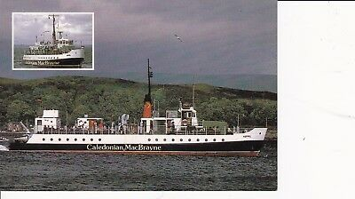 """CLYDE STEAMER MV """"Keppel"""" with CACHET Millport Largs Firth of Clyde Rothesay"""
