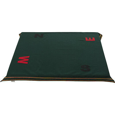 Bridge Poker Card Game Tablecloth NESW Compass Gaming Casino Baize Table Cover