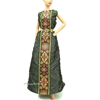 Barbie Doll Gown Dress Princess Of Ireland Dolls Of The World Eur