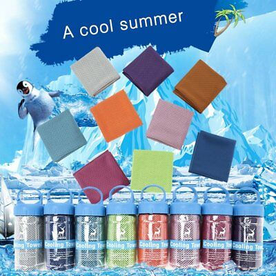 High Water Absorbent Thick Cooling Towel Sports Towel Soft Fabric Quick Dry  ES