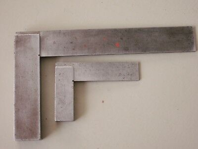 2 Moore & Wright Steel Squares