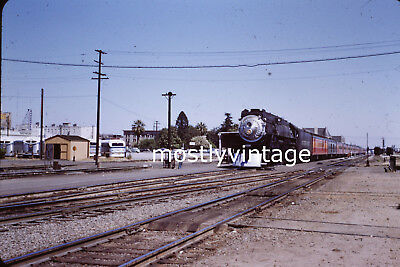 Southern Pacific Railroad Steam Engine 4449 - 6/19/1955 35mm Train Slides