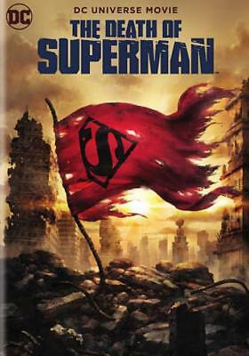 Death Of Superman New Dvd