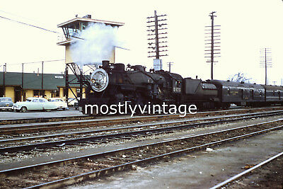 Southern Pacific Railroad Steam Engine 2475 - 12/30/1955 35mm Train Slides