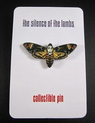 The Silence of the Lambs Enamel Pin Death's Head Moth Horror Collectible