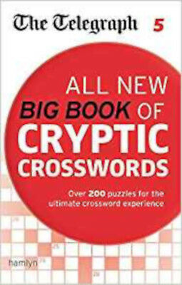 The Telegraph: All New Big Book of Cryptic Crosswords 5 (The Telegraph Puzzle Bo