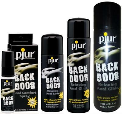 Pjur Back Door Anal Relaxing Comfort Lubricant 20ml 30ml 100ml 250ml Private