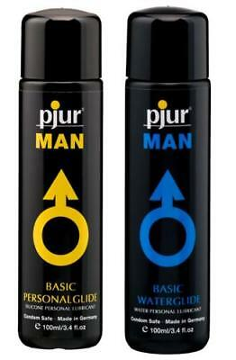 Pjur Basic Gay Man Water / Silicone Lubricant 30ml 100ml 250ml Private