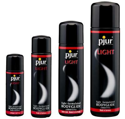 Pjur Light Thinner Silicone Lube Lubricant 30ml 100ml 250ml 500ml Private