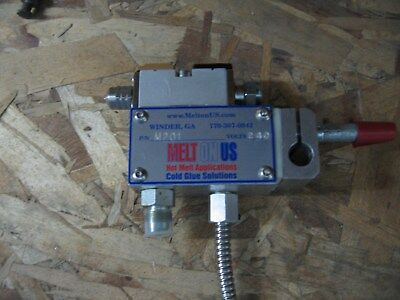 Hot Glue Applicator Gun. Nordson Sa14B Module Never Used.
