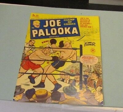 December 1950 Joe Palooka Comic Book #51 Boxing Sports Ham Fisher Harvey Golden