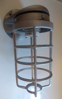 Rab Industrial Caged Safety Light Fixture - New