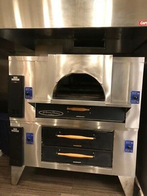 "Pizza Oven Baker's Pride  Large  65 1/4""W x 43""D x 86''H"