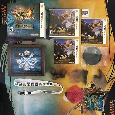 Monster Hunter 4 Ultimate Collector's Edition - Nintendo 3DS - Free Shipping!