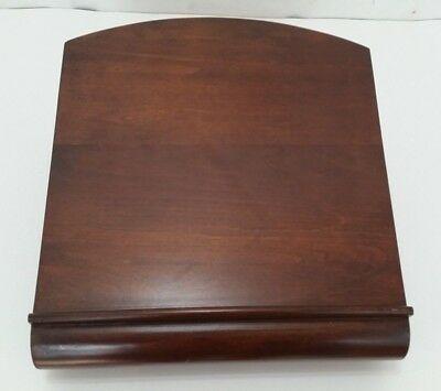 Levenger Lazy Susan Tabletop Book Stand Swivel Podium - Bible Church Funeral