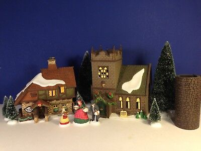Dept 56 Dickens Village THE SPIRIT OF GIVING Start A Tradition Set of 13 w/ box
