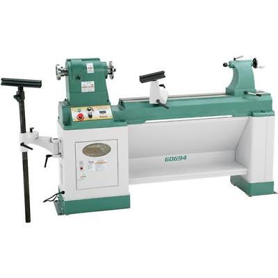 "G0694 20"" x 43"" Heavy-Duty Variable-Speed Wood Lathe"