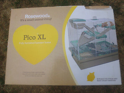 Rosewood Pico Xl Fully Furnished Hamster House