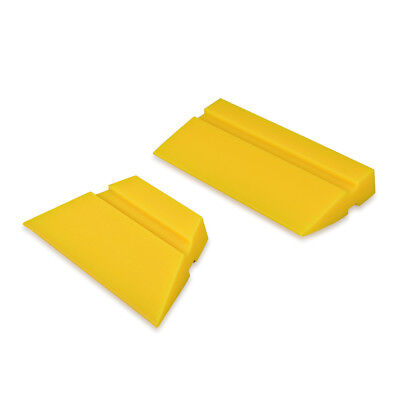 2 Size Mini Rubber Squeegee Turbo Blade for Auto Home Window Tint Cleaning Tool