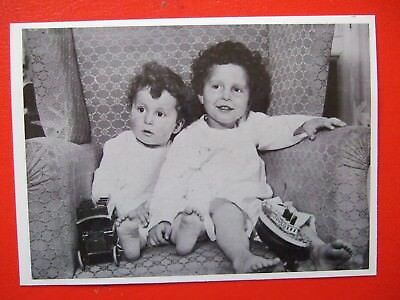 Titanic Postcard-Two Young Survivors From The Titanic