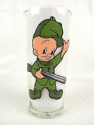Pepsi Collector Series Glass Elmer Fudd 1973 Warner Bros #8345