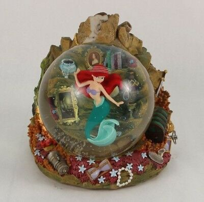 Rare Disney The Little Mermaid Part Of Your World Snowglobe 1988 #96678