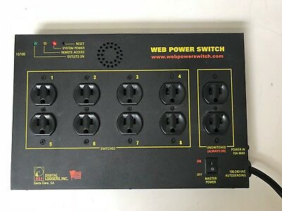 Digital Loggers Inc. Web Power Switch Lpc-3 - Tested