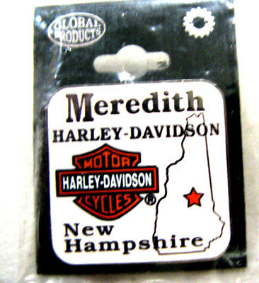 Meridith NH New Hampshire Harley Davidson Dealers Pin – new in bag