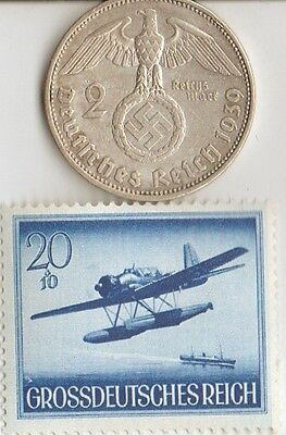 -*smal  lot  of   -  4 -  WW2 - *US  and  *german  coins  and   stamps +..