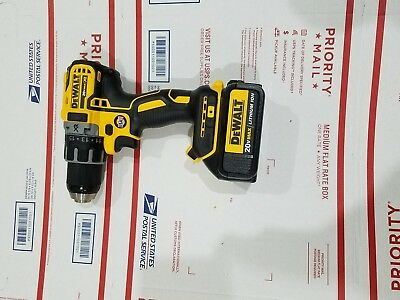 "DEWALT DCD791B 20V MAX XR Li-Ion 0.5"" Brushless Compact Drill/Driver + battery"