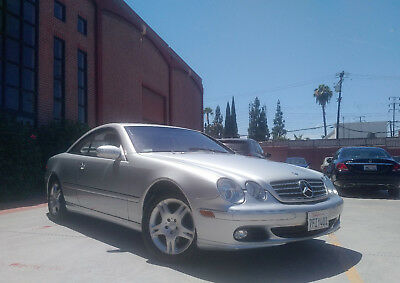 2003 Mercedes-Benz CL-Class CL500 NO RESERVE Only 68k Miles XCLNT Premium Ed. Xclnt 2003 Mercedes Benz CL500 NO RESERVE only 68k Miles Loaded XCLNT Premium Ed