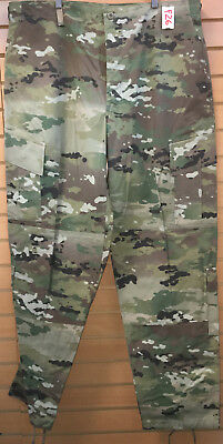 Us Army Ocp Scorpion R/s Insect Repellent Combat Pant X-Large Long Used (4_F26)