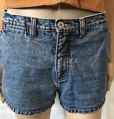 Vintage Calvin Klein Blue Jean Shorts 90s Back To School Fashion